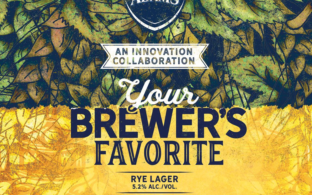 """Sam Adams Boston Taproom and Wormtown Collaborate on """"Your Brewer's Favorite"""" Rye Lager"""