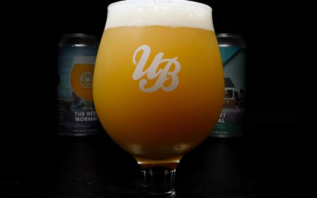 Untold Brewing and Brockton Beer Company Collaborate On Hazy IPA 'The Next Normal'