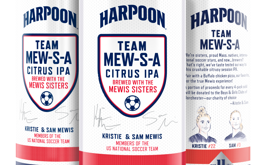 Harpoon Brewery Releases Mew-S-A Citrus IPA