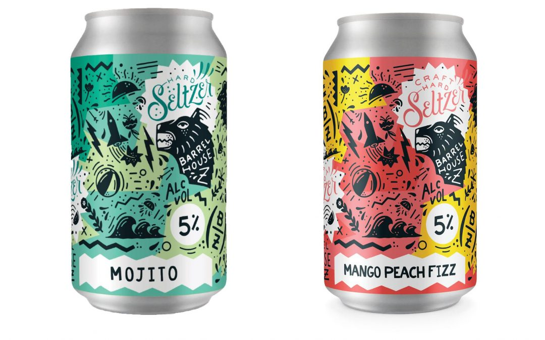 Barrel House Z Releases Two Craft Hard Seltzers: Mojito and Mango Peach Fizz