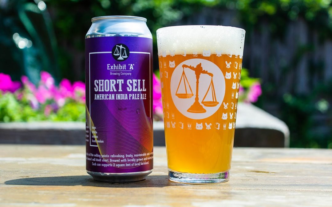Exhibit 'A' Brewing Company Releases Short Sell American IPA