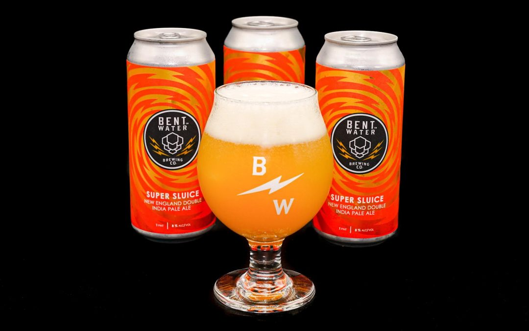 Bent Water Brewing Company  Releases Super Sluice, a New England Double IPA