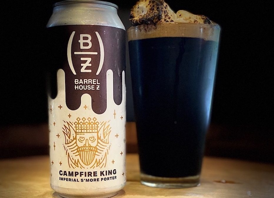 Barrel House Z Releases Campfire King Imperial S'more Stout