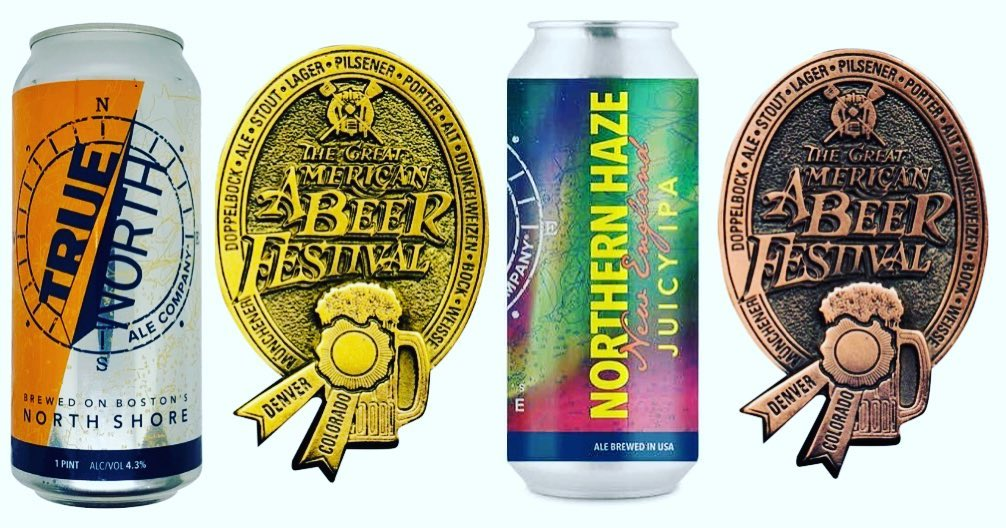 True North Ale Company Earns Gold and Bronze Medals at the 2021 Great American Beer Festival®