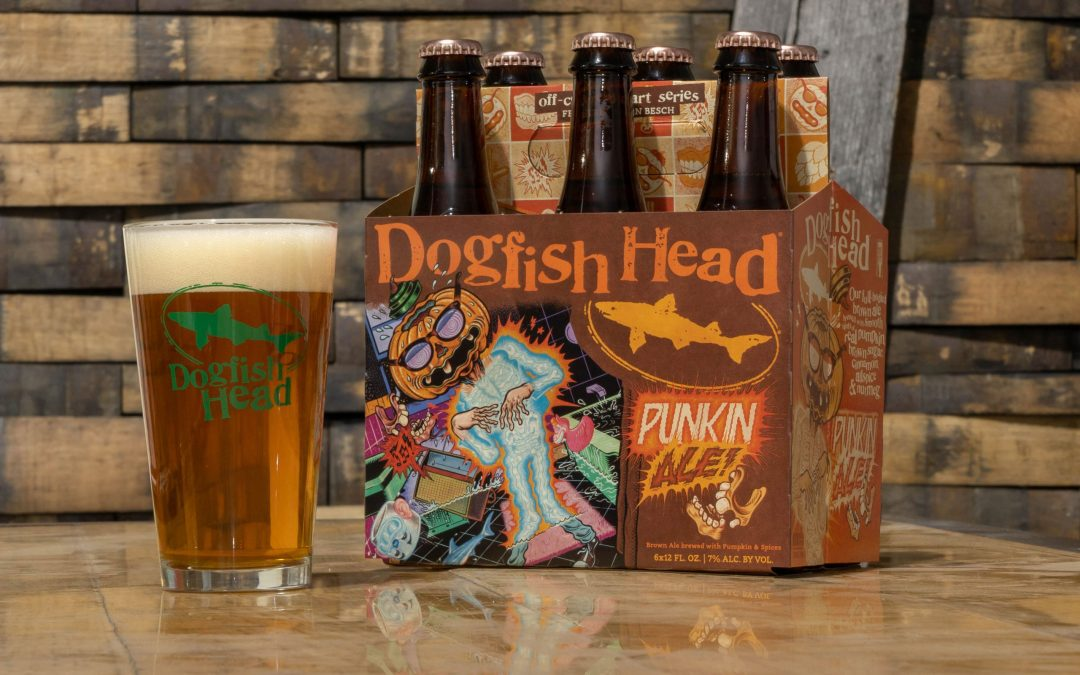 Dogfish Head's Punkin Ale Returns with Glow-in-the-Dark Packaging