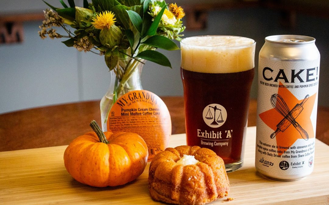Exhibit 'A' Brewing Company Presents Cake! Fall Flavored Ale
