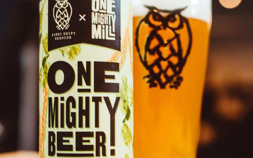 Night Shift Brewing and One Mighty Mill Announce Collaboration For One Mighty Beer